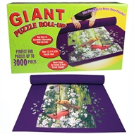 Giant Puzzle Roll-Up Mat Store Up To A 3000 Piece Jigsaw Puzzle Space Saver